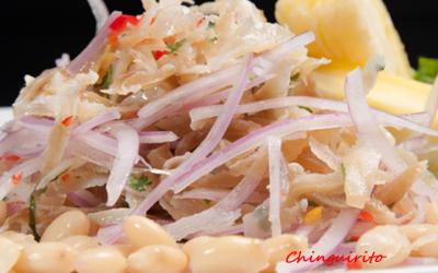 Receta de Comida Peruana: El Chinguirito